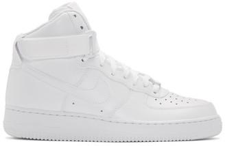 Nike White Air Force 1 High 07 Sneakers