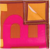Bally B print scarf