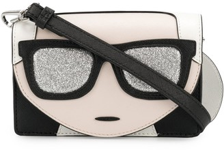 Karl Lagerfeld Paris Ikonik mini crossbody bag