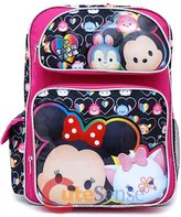 Disney Tsum Tsum Minnie Mickey Marie and Thumper Size Backpack (16in)