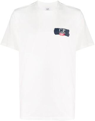 C.P. Company chest logo T-shirt