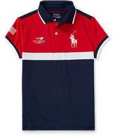 Ralph Lauren 7-16 Us Open Ball Girl Polo Shirt