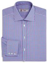 Turnbull & Asser Double Grid Regualr Fit Dress Shirt