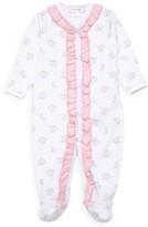 Magnolia Baby Baby Girl's Cheery-Print Pima Cotton Footie