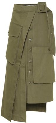 Jacquemus La Jupe Thika cotton midi skirt