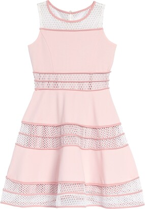 Blush by Us Angels Sleeveless Skater Dress