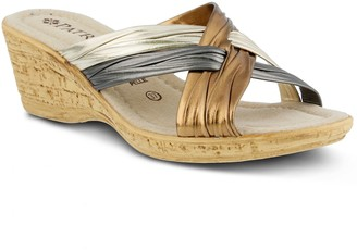 Patrizia Apple Women's Slide Sandals