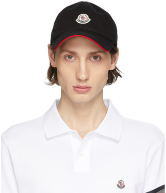 Moncler Black Baretto Baseball Cap