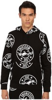 Love Moschino Regular Fit Panther Print Hoodie