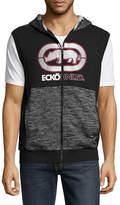 Ecko Unlimited Unltd Sleeveless Hooded Neck T-Shirt