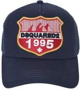 DSQUARED2 1995 Patch Gabardine & Mesh Trucker Hat