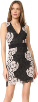 Alice + Olivia Patrice Aline Lace Dress