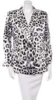 Thomas Wylde Silk Leopard Print Blazer w/ Tags