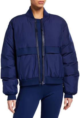 adidas by Stella McCartney Padded Zip-Front Bomber Jacket