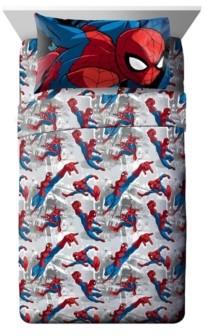 Marvel Spiderman 3-Piece Twin Sheet Set Bedding