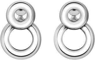 Christofle Sterling Silver Pendant Earrings