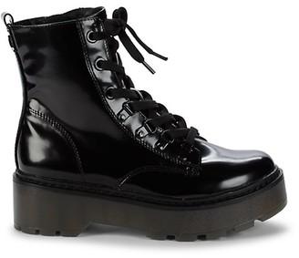 Sam Edelman Soya Patent Combat Boots