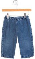 Oscar de la Renta Girls' Corduroy Wide-Leg Pants