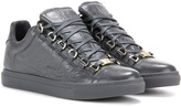Balenciaga Arena Leather Sneakers
