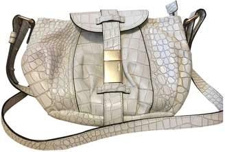 Max Mara Atelier White Leather Handbags