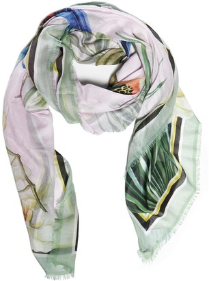 Dolce & Gabbana Jungle Printed Scarf