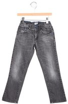 Armani Junior Boys' Straight-Leg Mid-Rise Jeans