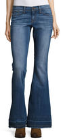 Flying Monkey Flared Cotton-Stretch Jeans