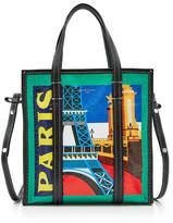 Balenciaga Paris Bazar Small Leather Shopper
