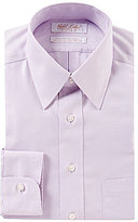 Roundtree & Yorke Gold Label Non-Iron Fitted Classic Fit Point Collar Dress Shirt
