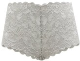 Thumbnail for your product : Hanro Moments Lace Boy-short Briefs - Grey