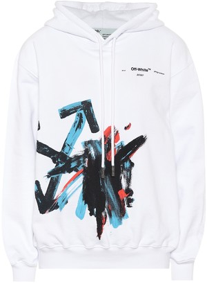 Off-White Off White Cotton-jersey hoodie