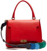Anya Hindmarch Circle Bathurst small leather bag