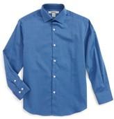 DKNY Boy's Textured Dress Shirt
