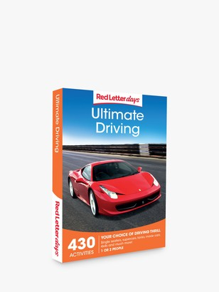 Red Letter Days Ultimate Driving Gift Experience