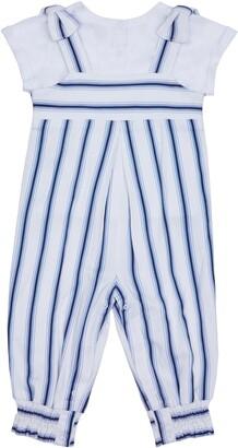 Habitual Kids Stripe Top & Jumpsuit Set