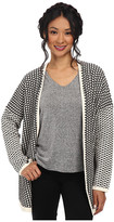 BCBGeneration Novelty Open Stitch Front Cardigan