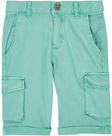 Sorry 4 the Mess SORRY 4 THE MESS COTTON-BLEND TWILL CARGO SHORTS