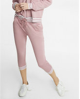 Express One Eleven Striped Cuff Jogger Pant