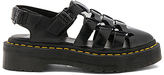 Dr. Martens Oriana Pointed Fisherman Sandal in Black. - size 8 (also in 9)