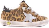 Golden Goose Deluxe Brand Superstar Leopard Print Suede Trainers