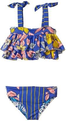 Maaji Kids Shelly's Waves Bikini Set Swimsuit (Toddler/Little Kids/Big Kids)