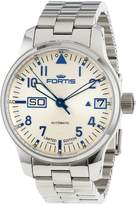 Fortis Men's 700.20.92 M F-43 Flieger Dial Automatic Date Stainless-Steel Watch