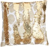 Thro Georgina Giraffe Reversible Sequin Square Throw Pillow