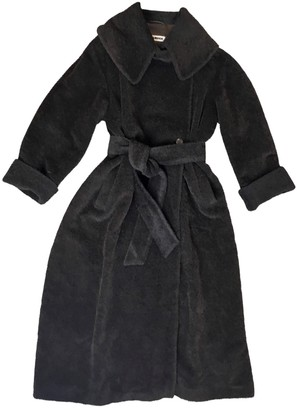 Jil Sander Brown Wool Coat for Women Vintage