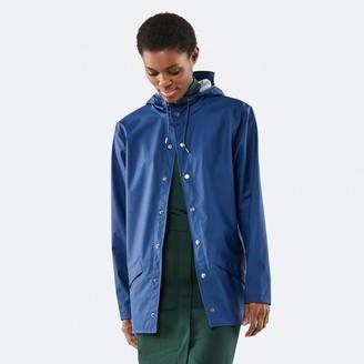 Rains Jacket Klein Blue - XS/S