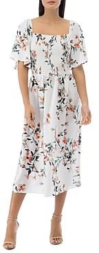 Baobab Collection Mathilde Smocked Flutter-Sleeve Dress