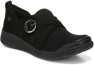 Bzees Slip-On Stretch Loafers - Indigo