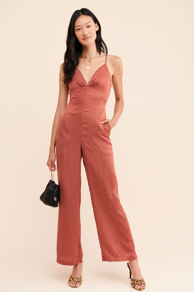 Endless Rose Silky Dots Jumpsuit