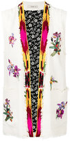 Etro frayed waistcoat - women - Silk/Cotton/Viscose - 40