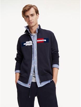 Tommy Hilfiger Logo Zip Sweatshirt